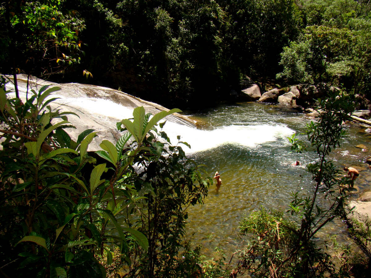 Cachoeira do Escorrega - Pousada Visconde de Mauá